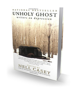 unholy ghost writers on depression essays Unholy ghost: writers on depression takes its main title from a poem by jane kenyon depression is the unholy ghost,/    certain to come again in one of the most compelling essays, editor nell casey recognizes her own fragility as her sister maud is hospitalized again.